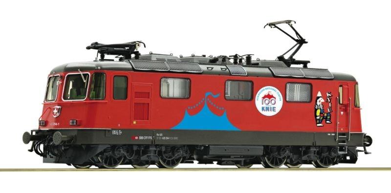 E-Lok 420 294 Circus Knie der SBB, Epoche VI, Spur H0