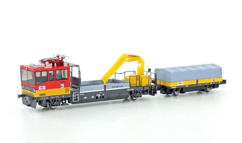 Gleiskraftwagen Robel X552 ÖBB, Ep.V-VI, motorisiert, Spur N