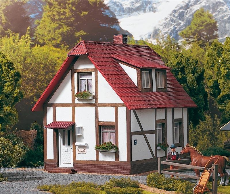 Wohnhaus Dr.  König, Bausatz, Spur G