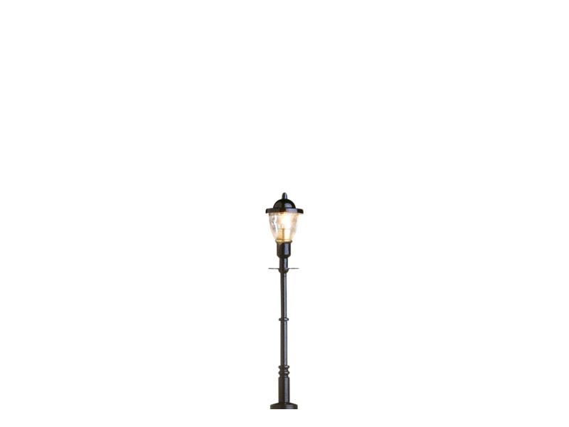 LED-Alte Gaslaterne Stecksockel, einzeln, H0