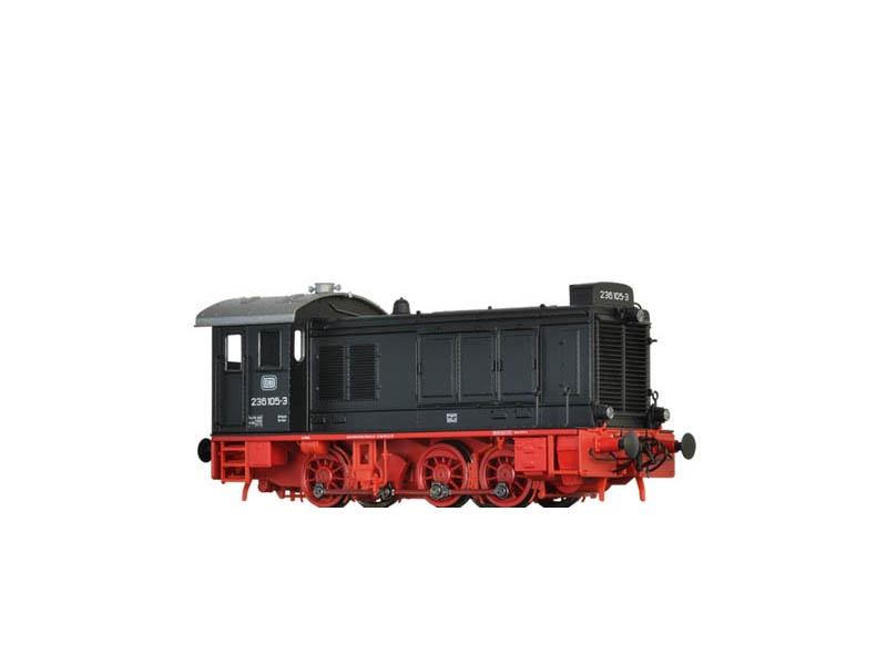 Diesellok 236 der DB, IV, DC Digital Extra, Sound, Spur H0