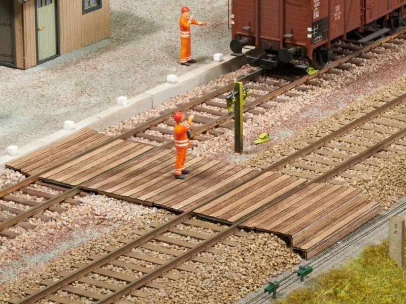 Gleisübergang Laser-Cut Bausatz, Spur 0
