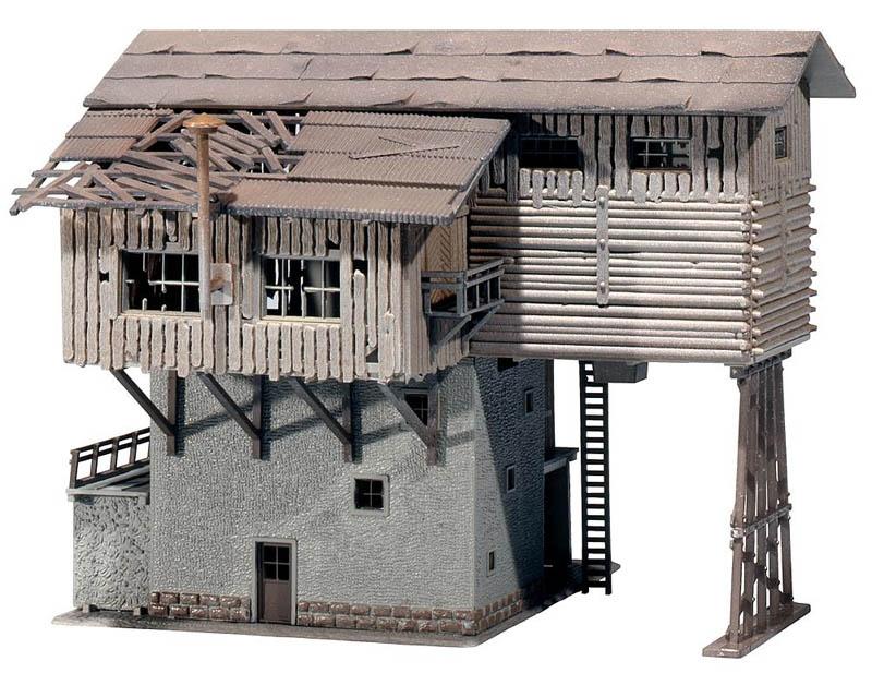 Altes Schotterwerk Bausatz H0