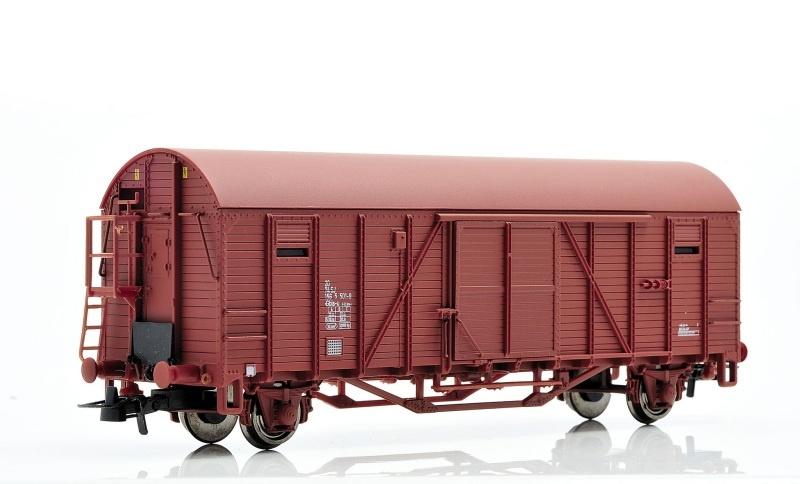 Topline Gedeckter Güterwagen Gbls-u der SJ, Spur H0