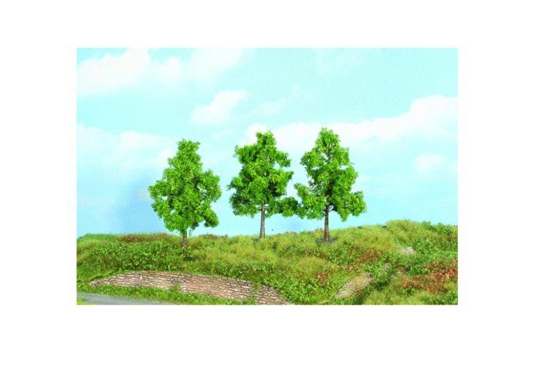 3 Obstbäume, 12 cm, H0, TT, N