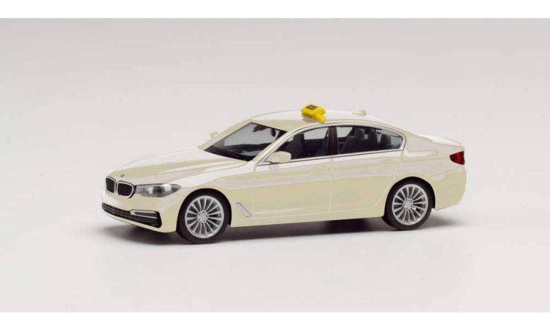BMW 5er Limousine Taxi, 1:87 / H0