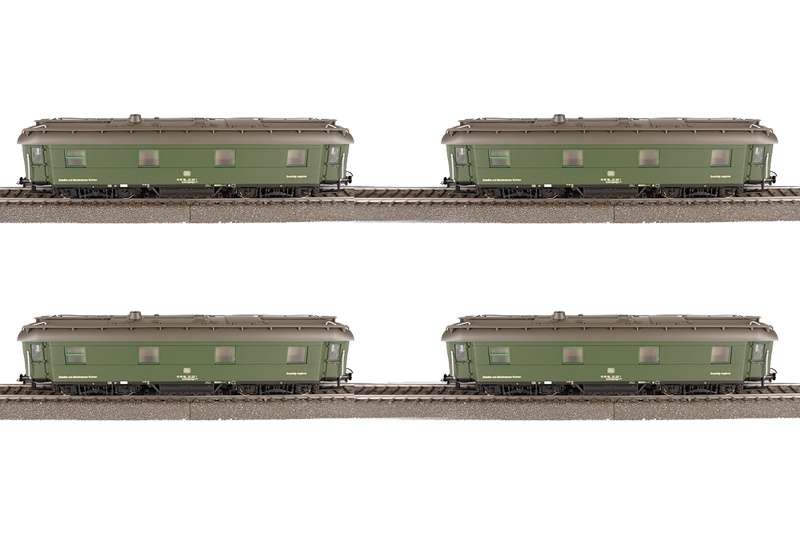 4er-Set 175 Jahre Deutsche Eisenbahn, DC, Spur H0