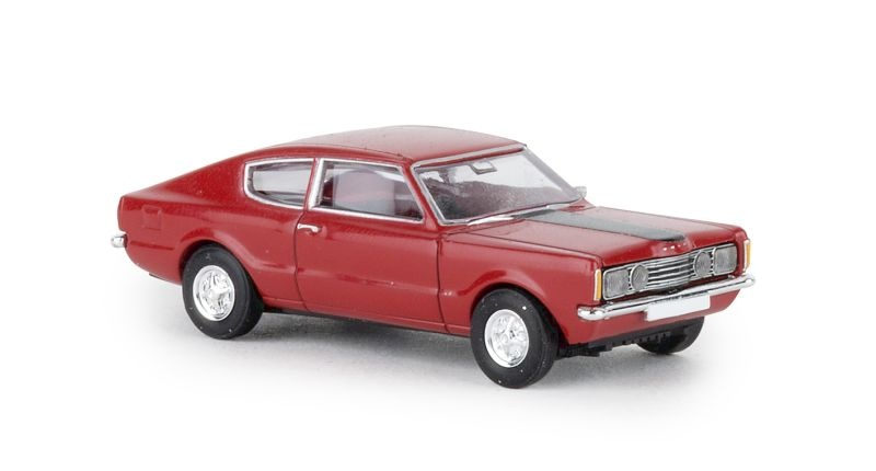 Ford Taunus Coupe GT rot, TD, 1:87 / Spur H0