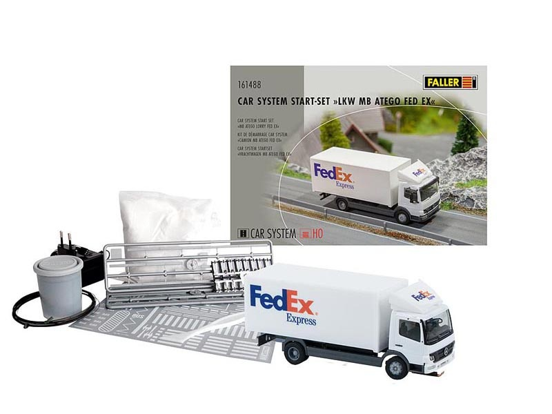 Car System Start-Set LKW MB Atego FedEx, Spur H0