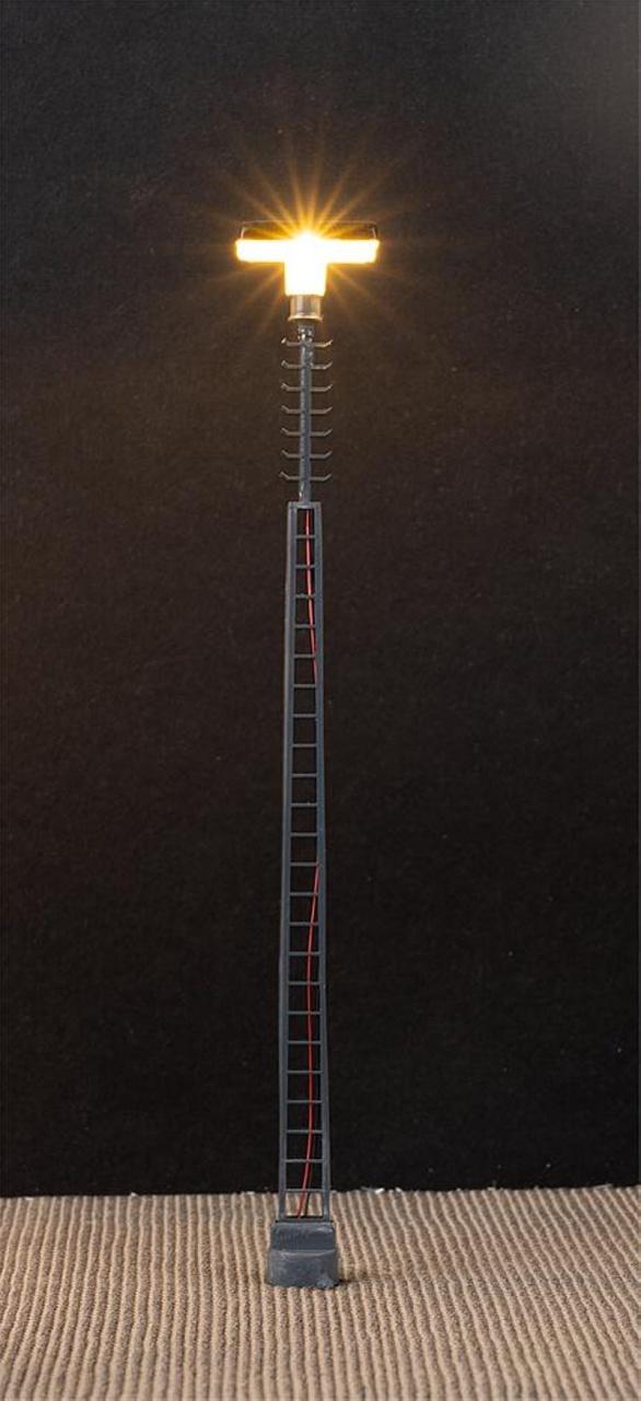 LED-Gittermast-Aufsatzleuchte, 3 Stück, H0