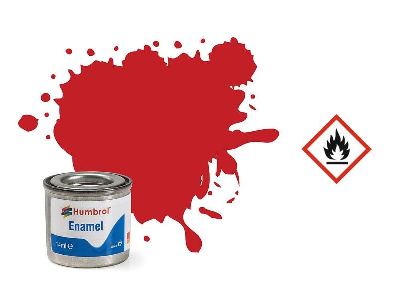 Enamel Nr. 220 Italienisches Rot, glänzend, 14 ml