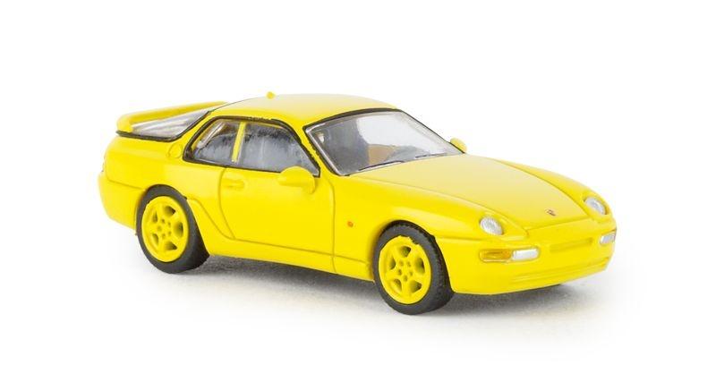 Porsche 968, gelb, 1991, 1:87 / Spur H0