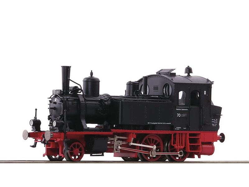 Dampflok BR 70 der DB, Leo-Sound, AC, Spur H0