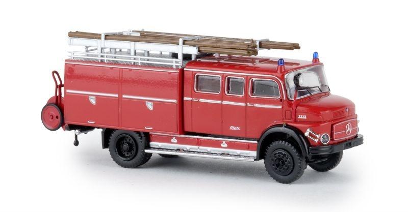 MB LAF 1113 LF 16 rot/schwarz, TD, Spur H0