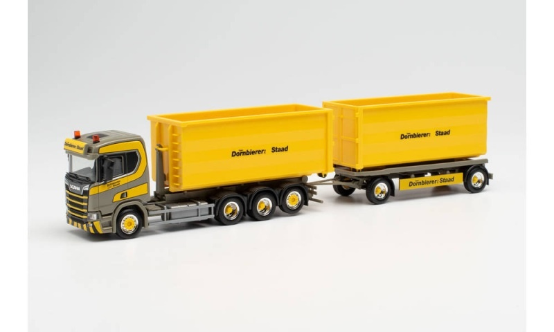 Scania CR HD 4-Achs Wechsellader-Hängerzug, 1:87 / Spur H0