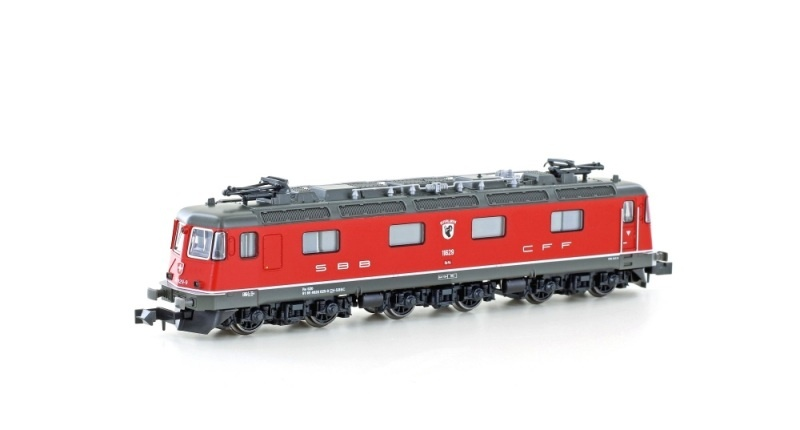 E-Lok Re 620 11629 der SBB, Ep.V-VI, rot, Spur N