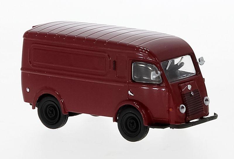 Renault Goelette, dunkelrot, 1950, 1:87 / H0