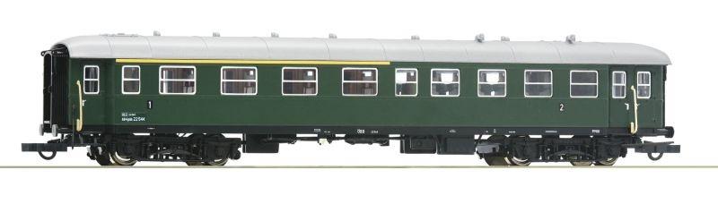 Eilzugwagen 1./2. Klasse der ÖBB, DC, Spur H0
