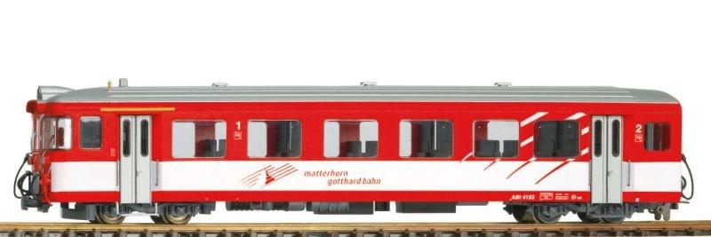 MGB ABt 4152 Steuerwagen 1./2.Klasse, Spur H0m