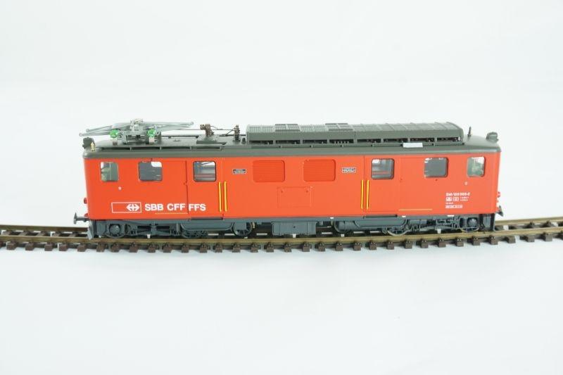 Zahnrad-Gepäcktriebwagen Brünig Deh 120 006 rot, SBB, H0m
