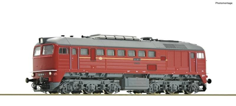 Diesellokomotive BR 120 der DR, Spur TT