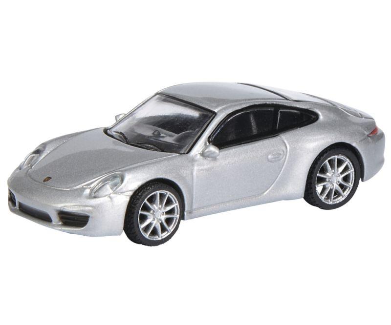 Porsche 911 (991) Carrera S Coupé, silber 1:87 / Spur H0
