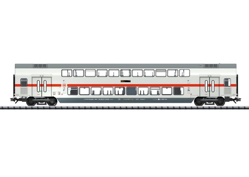 IC2 Doppelstock-Mittelwagen 2.Klasse der DB, Epoche VI, H0