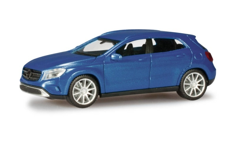 Mercedes-Benz GLA-Klasse, denimblue metallic, 1:87 / Spur H0