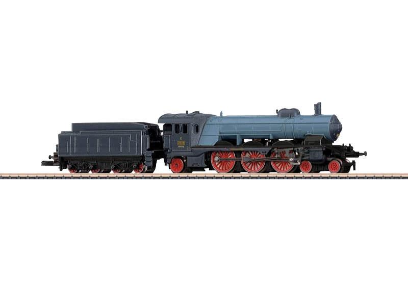 Schnellzug-Dampflokomotive Klasse C K.W.St.E. Spur Z