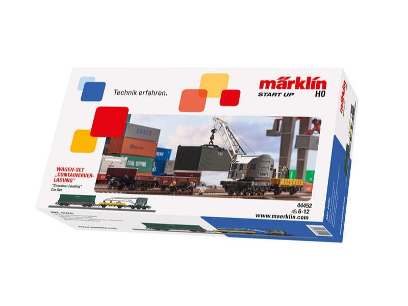 Start up - Wagen-Set Containerverladung H0