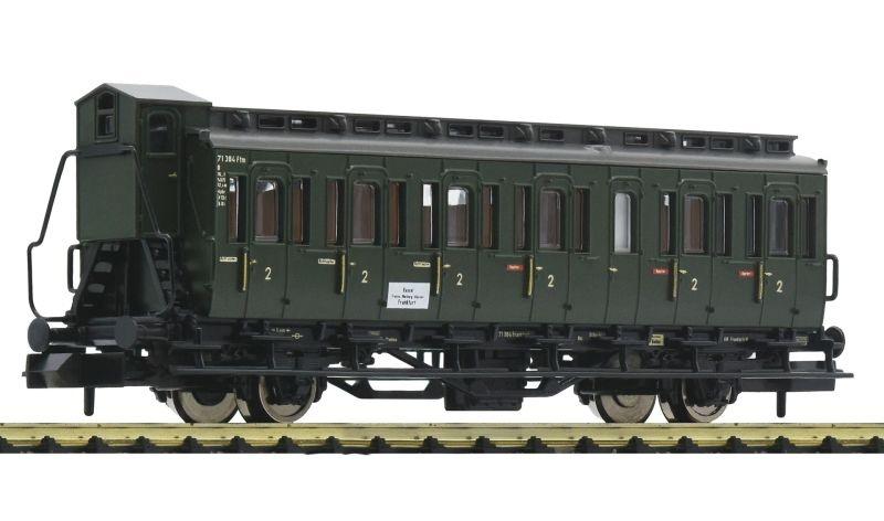 2-achsiger Abteilwagen C-pr21 2. Klasse der DB, DC, Spur N