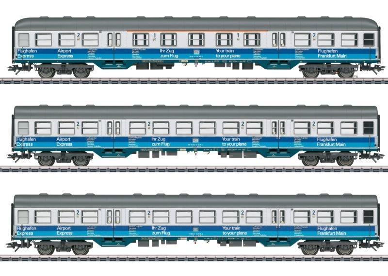 Personenwagen-Set Airport Express der DB, AC, Spur H0