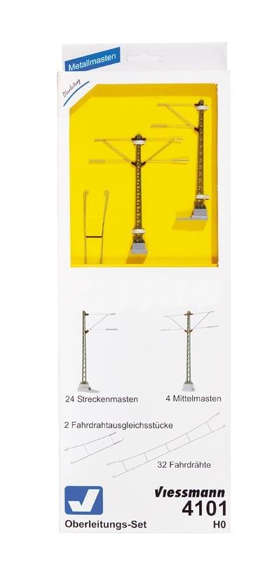 Oberleitungs-Set ICE, Spur H0