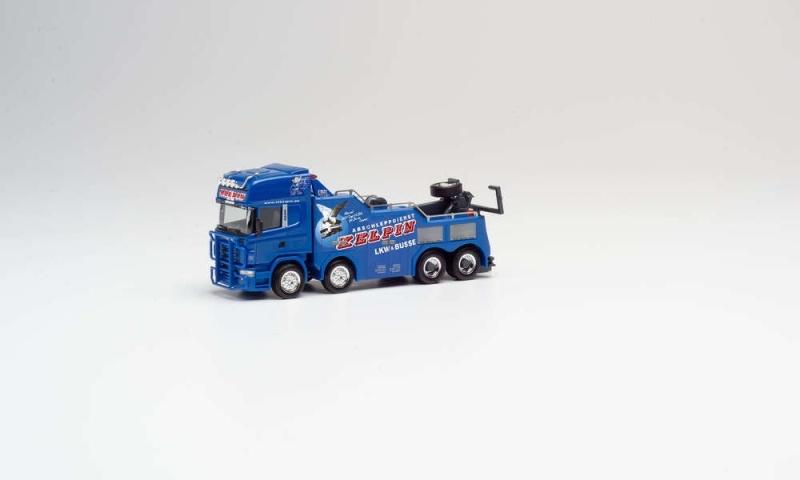 Scania R `04 TL Empl Bison Kelpin, 1:87 / Spur H0