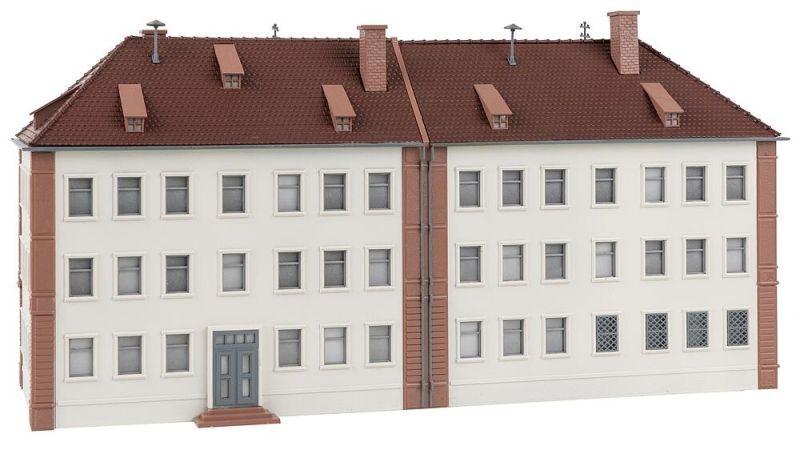 Mannschaftsgebäude Bausatz, Spur H0
