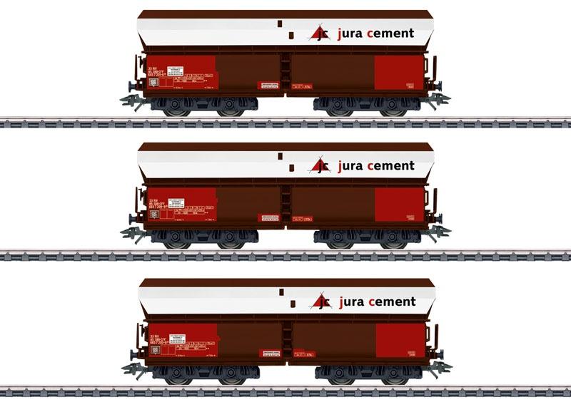 Schüttgutwagen-Set Juracement der SBB, AC, Spur H0