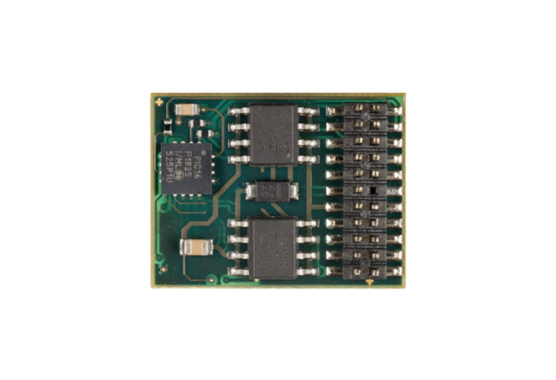 Fahrzeugdecoder DH22A für SX1, SX2, DCC und MM PluX22