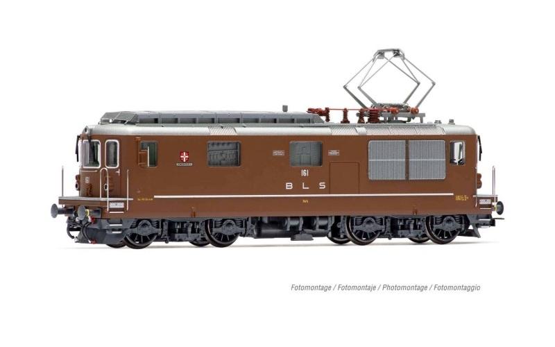 E-Lok Re 4/4 161 BLS Domodossola, Ep. IV-V, DC, Spur H0