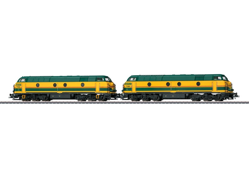 Diesellok Serie 55 der SNCB/TVM, Sound, AC, Spur H0