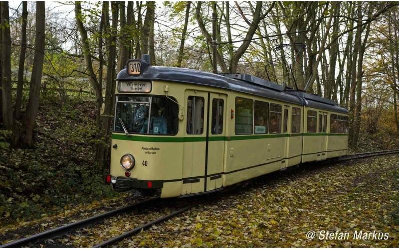 Straßenbahn, Duewag GT6, BOGESTRA, beige, Ep.IV, DC, H0