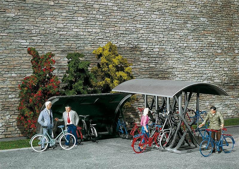 2 Fahrradständer Bausatz G