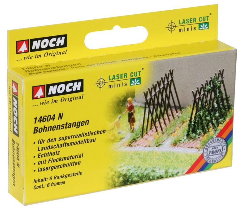 Bohnenstangen Laser-Cut minis Spur N