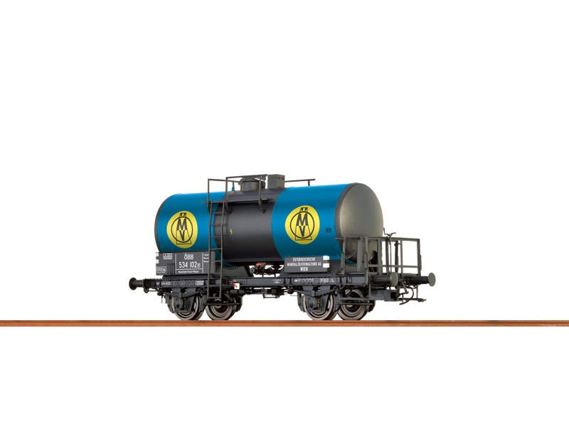 Kesselwagen 2-Achsig OMV der ÖBB, III, Spur N