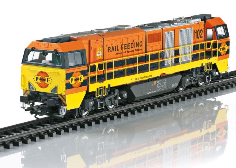 Diesellokomotive Vossloh G 2000 BB, RRF, Sound, DC, Spur H0