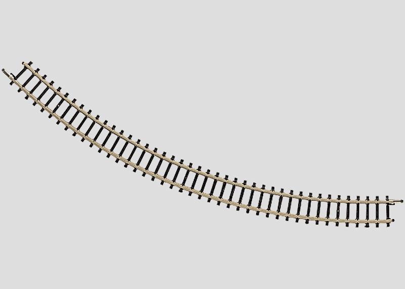 Gebogenes Gleis Radius 195 mm 45° Spur Z