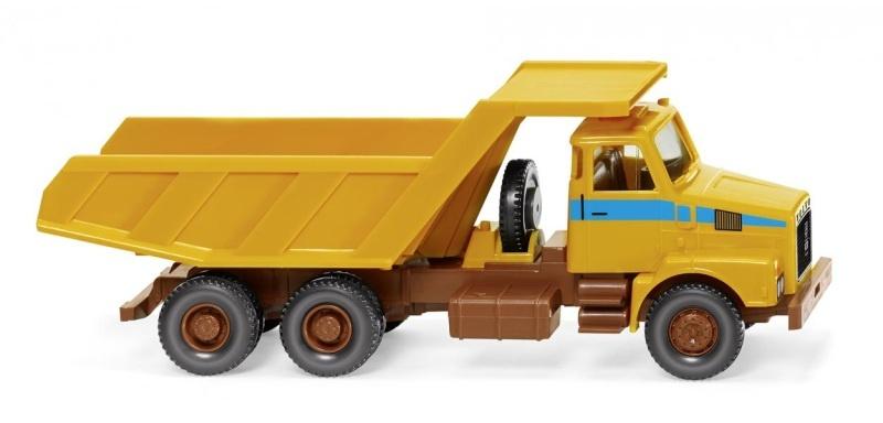 Muldenkipper (Volvo N10), maisgelb, 1:87 / H0