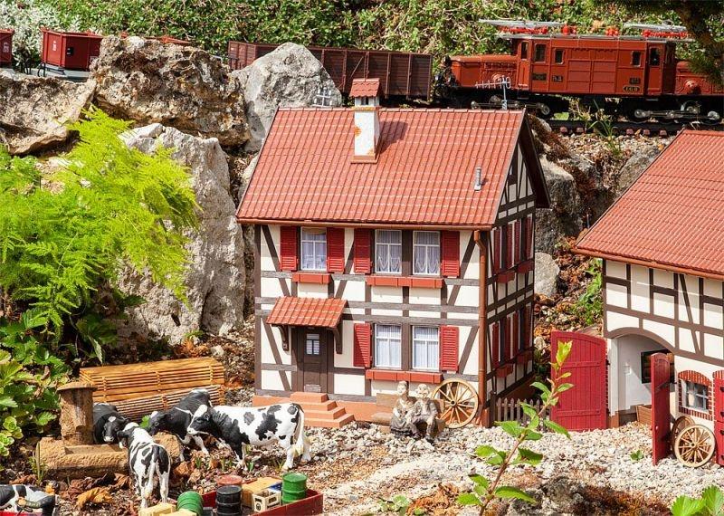 Fachwerkhaus Bausatz, Spur G