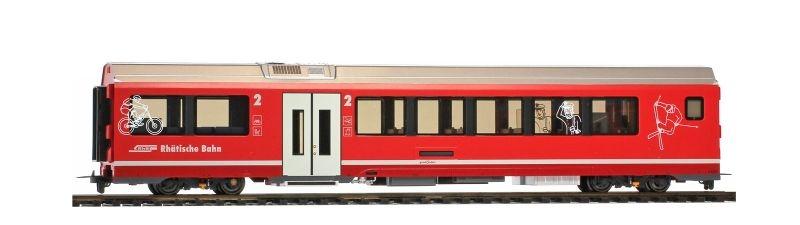 RhB B 577 01 AGZ Freizeitabteil, Spur H0m