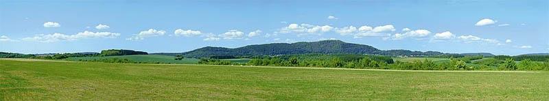 Modellhintergrund Sommer im Mittelgebirge 2700 x 500 mm