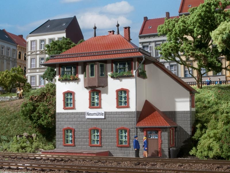 Stellwerk Neumühle, Bausatz, Spur H0